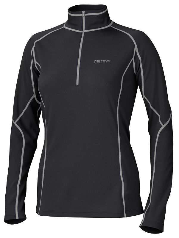 Marmot Wm's ThermalClime Pro LS 1/2 Zip Black-30