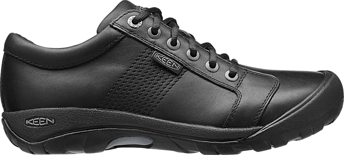 Keen Austin Black Full Grain-30