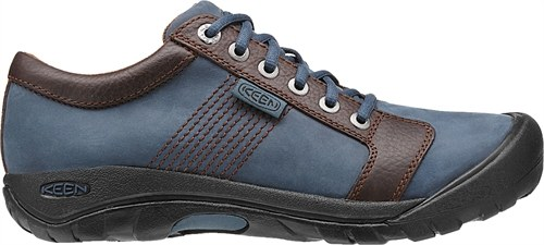 Keen Austin Midnight Navy/Chestnut-30