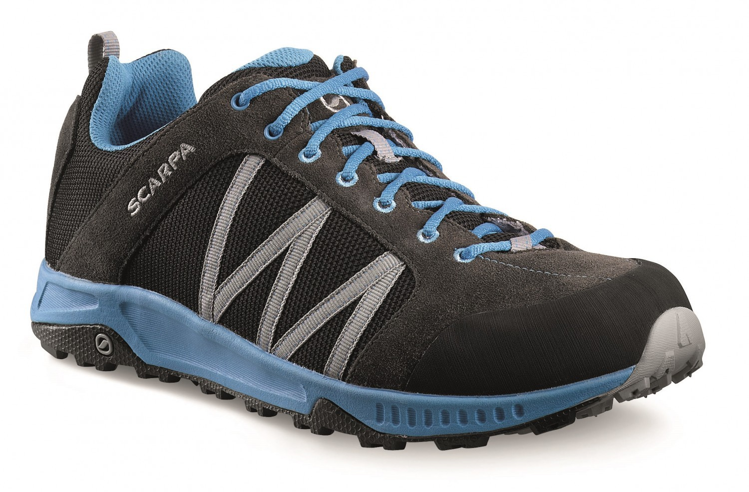 Scarpa - Rapid Black-Royale - Trailrunning Shoes - 38