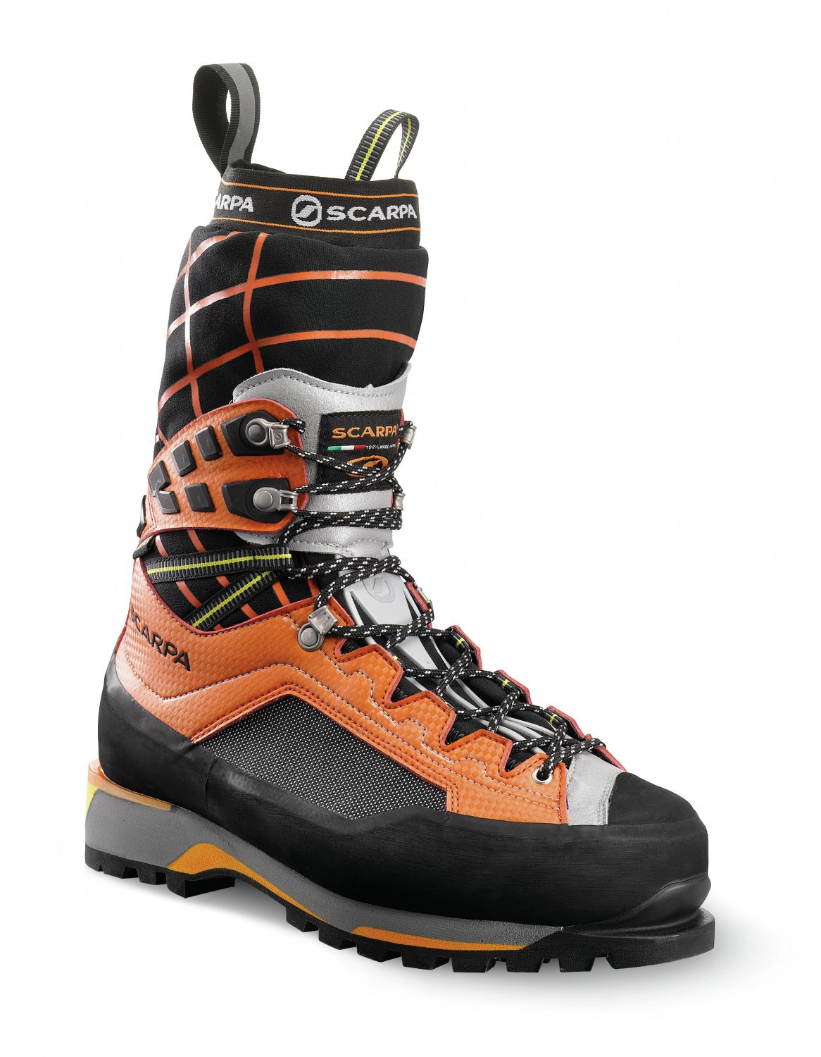 Scarpa Rebel Ultra GTX Black-Orange-30