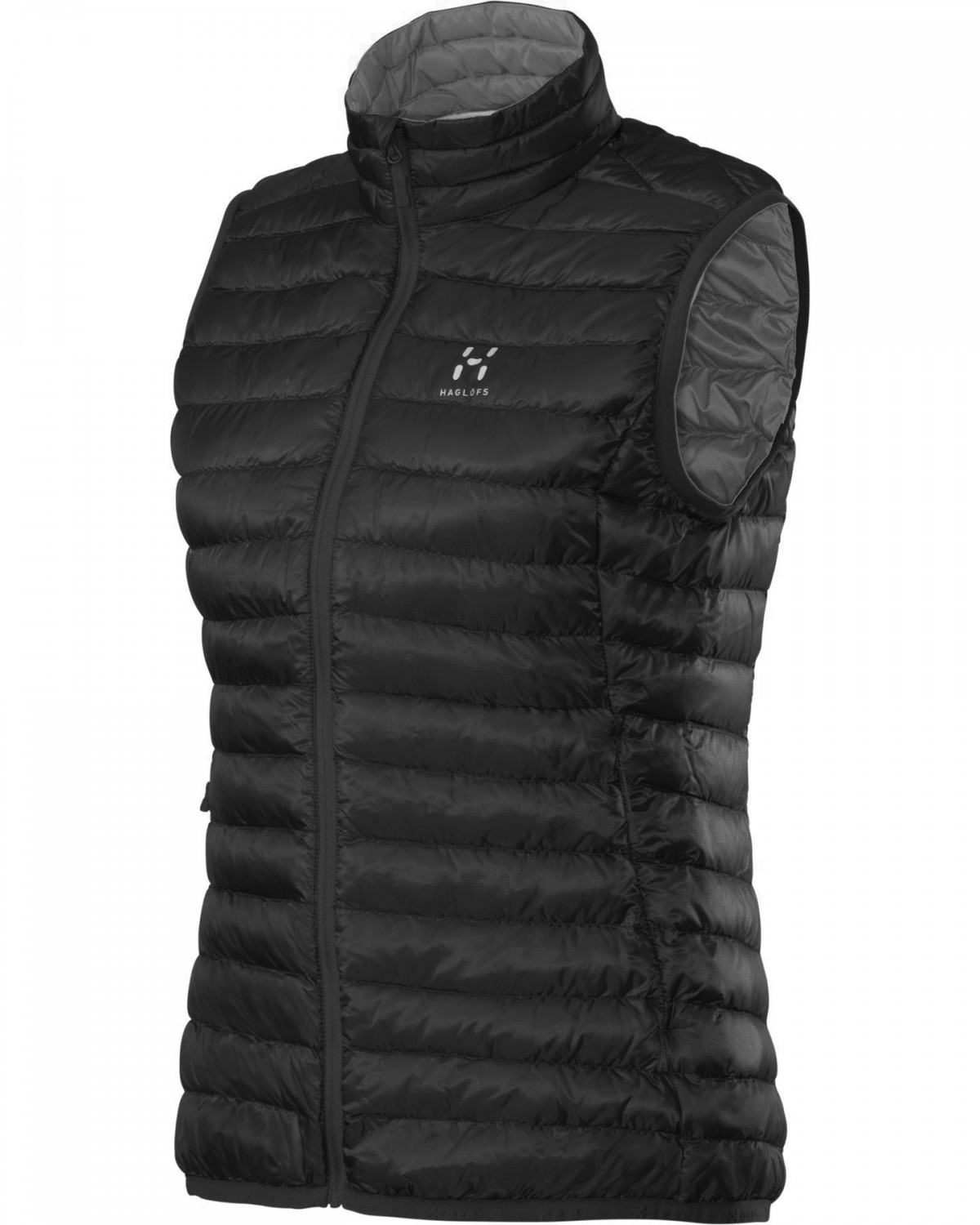 Haglofs - Essens II Down Vest True Black/Magnetite - Isolation & Winter Jackets - XXL
