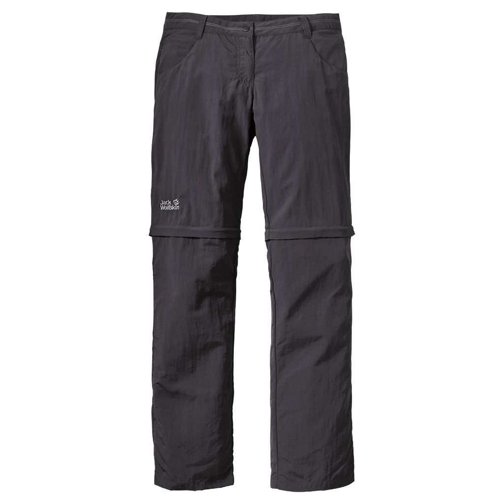 Jack Wolfskin Marrakech Zip Off Pants Women dark steel-30