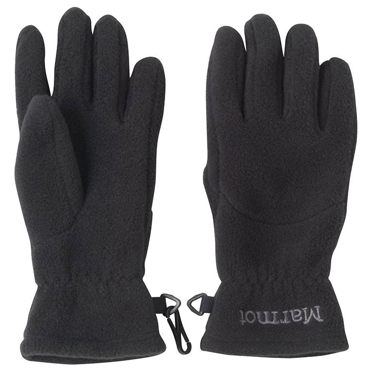 Marmot Kid's Fleece Glove Black-30