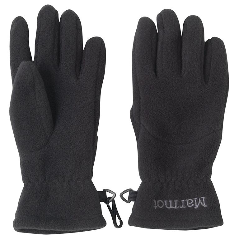 Marmot - Kid's Fleece Glove Black - Gloves - M