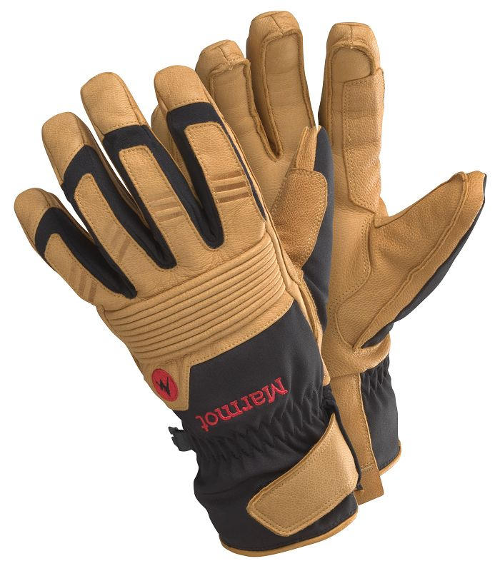 Marmot Exum Guide Undercuff Glove Black/Tan-30