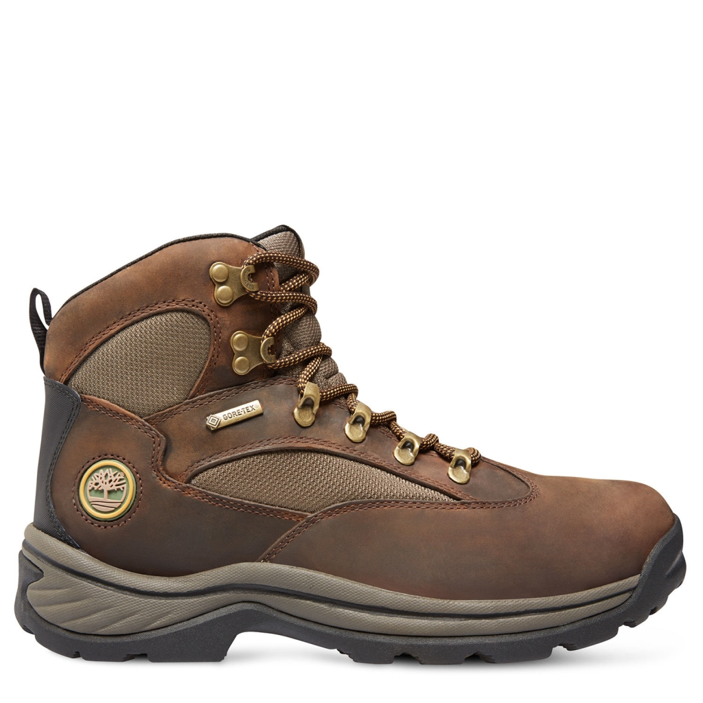 Timberland Men's Chocorua Trail Mid with GORE-TEX Membrane Brown/Green-30
