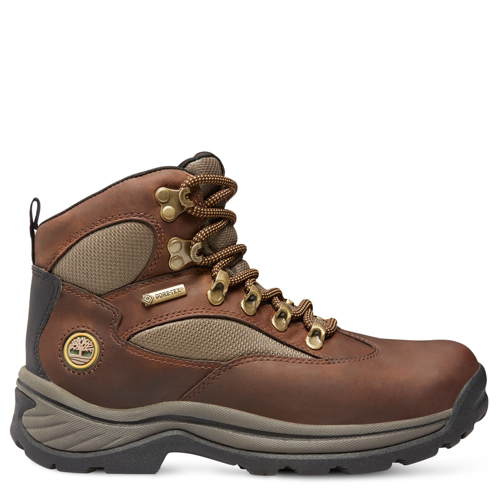 Timberland Women's Chocorua Trail Mid with Gore-Tex membrane Dark Brown/Green-30