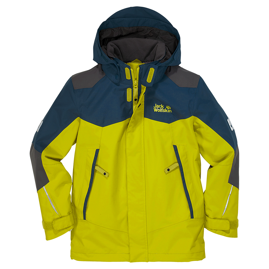 Jack Wolfskin Kids Twister Jacket wild lime-30