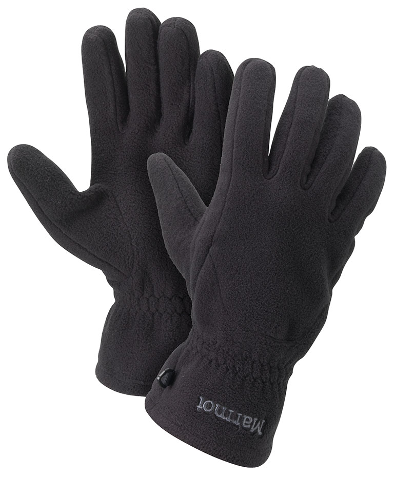 Marmot Fleece Glove True Black-30