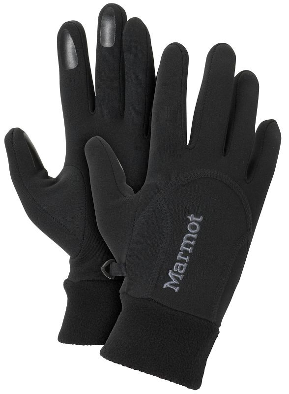 Marmot Wm's Power Stretch Glove Black-30