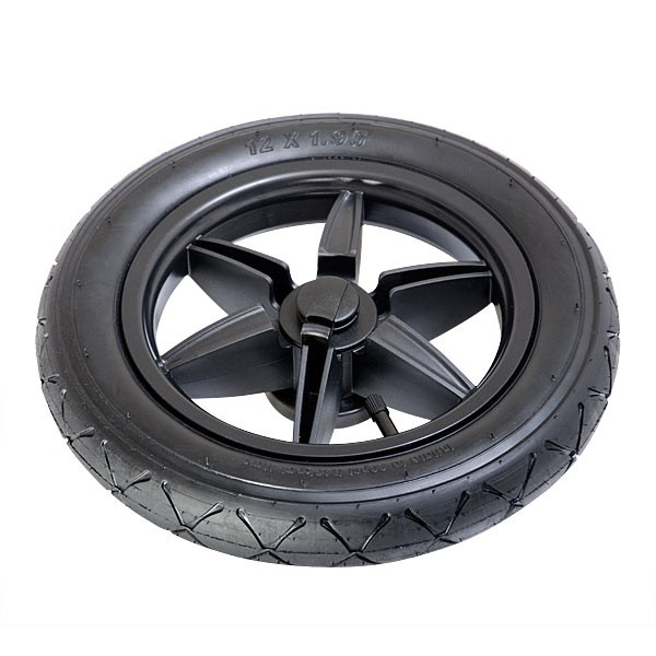 "Terrain 12"" Rear Wheel Set BLACK-30"