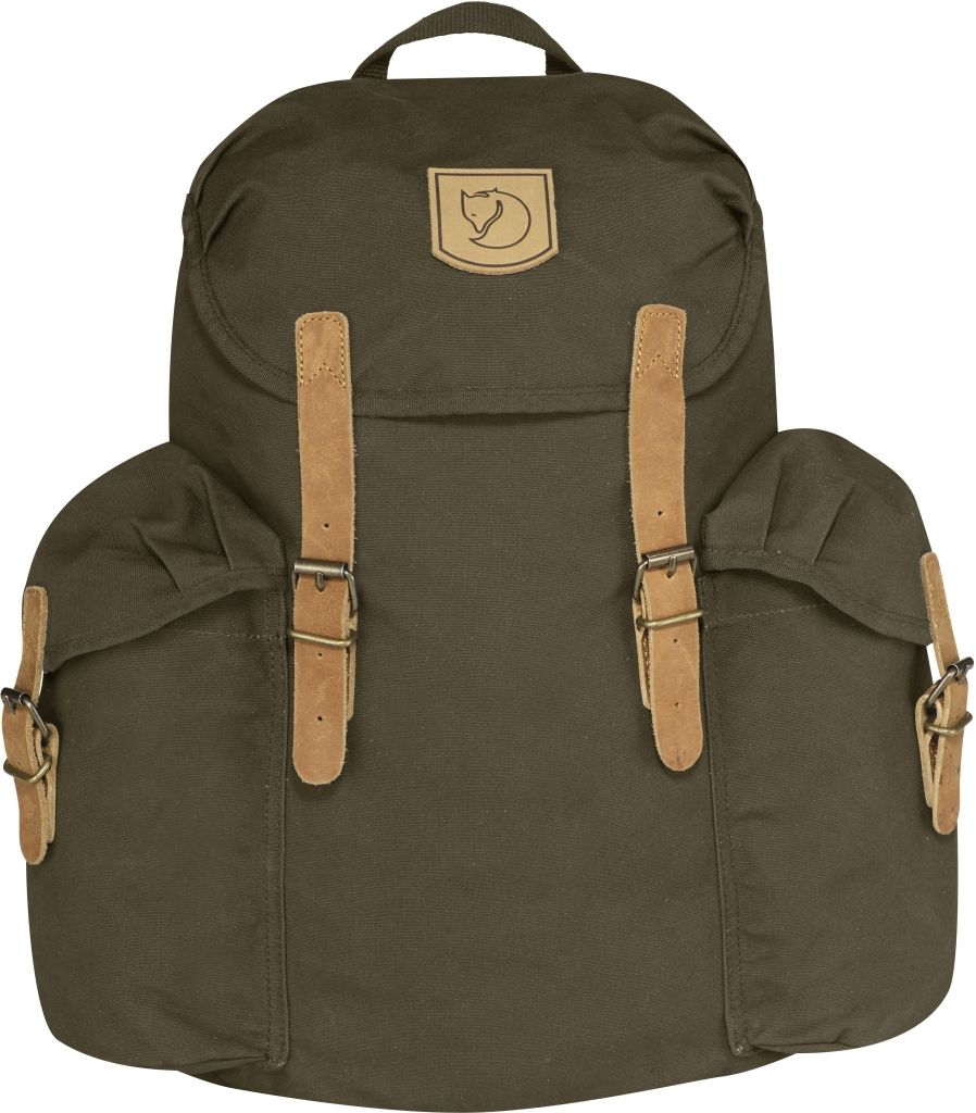 FjallRaven Övik Backpack 15L Dark Olive-30
