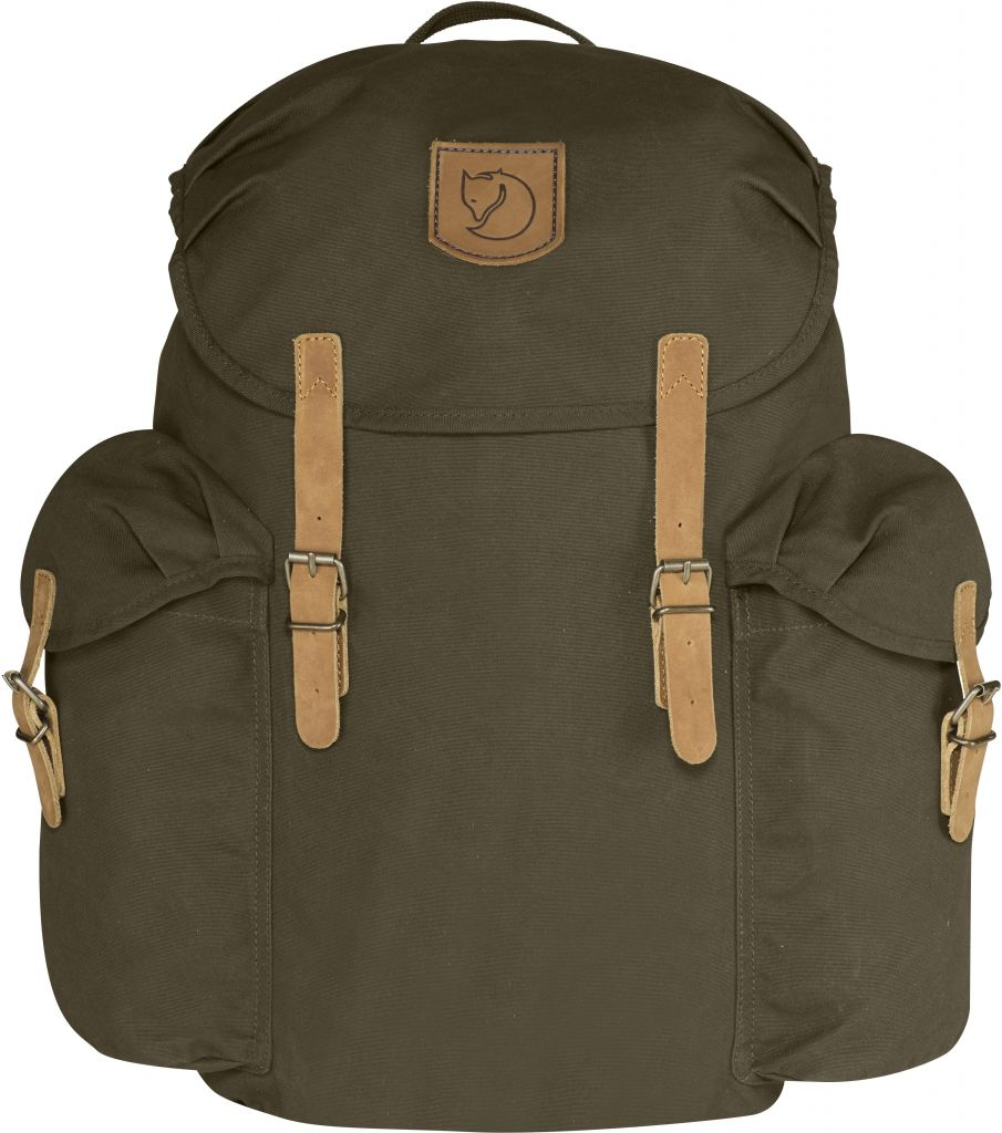 FjallRaven Övik Backpack 20L Dark Olive-30