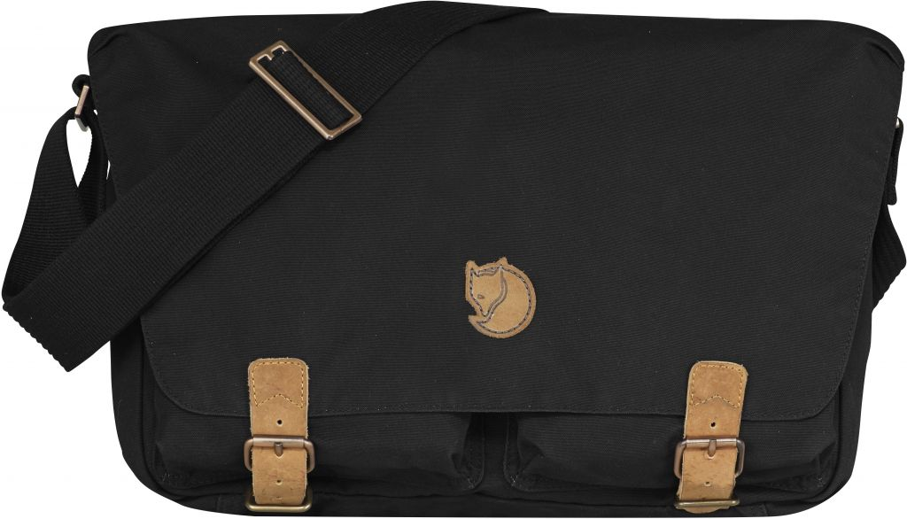 FjallRaven Övik Shoulder Bag Black-30