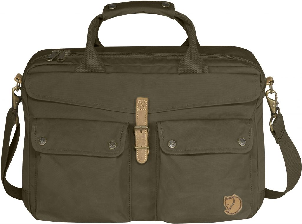 FjallRaven Greenland Briefcase Dark Olive-30