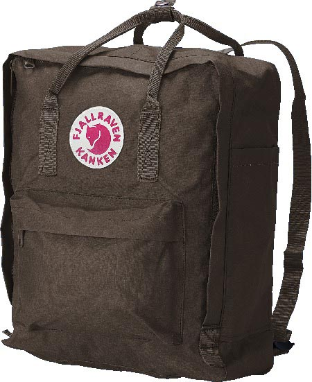 FjallRaven Kanken Brown-30