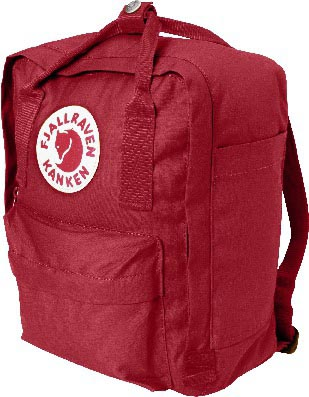 FjallRaven Kanken Mini Deep Red-30