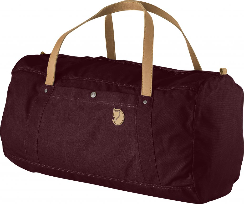 FjallRaven Duffel No.4 Large Dark Garnet-30