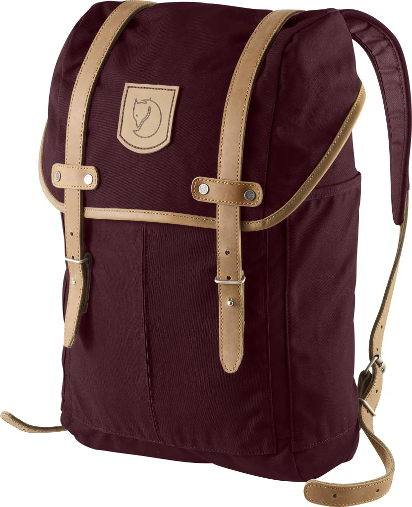 FjallRaven Rucksack No.21 Small Dark Garnet-30