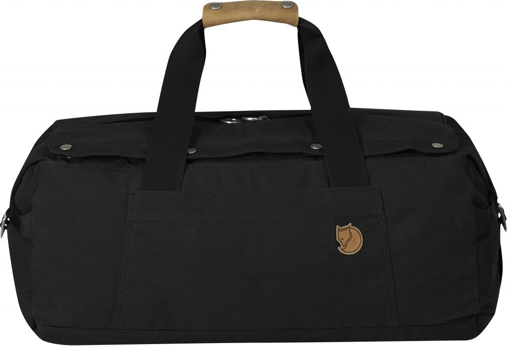 FjallRaven Duffel No.6 Small Black-30