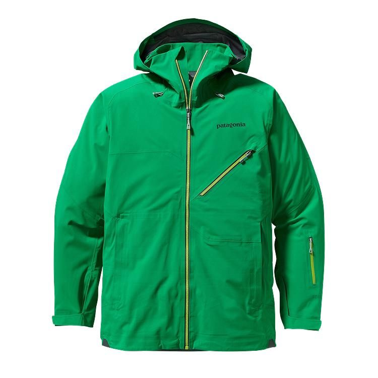 Patagonia - Untracked Jacket Tumble Green - Rain Jackets - S