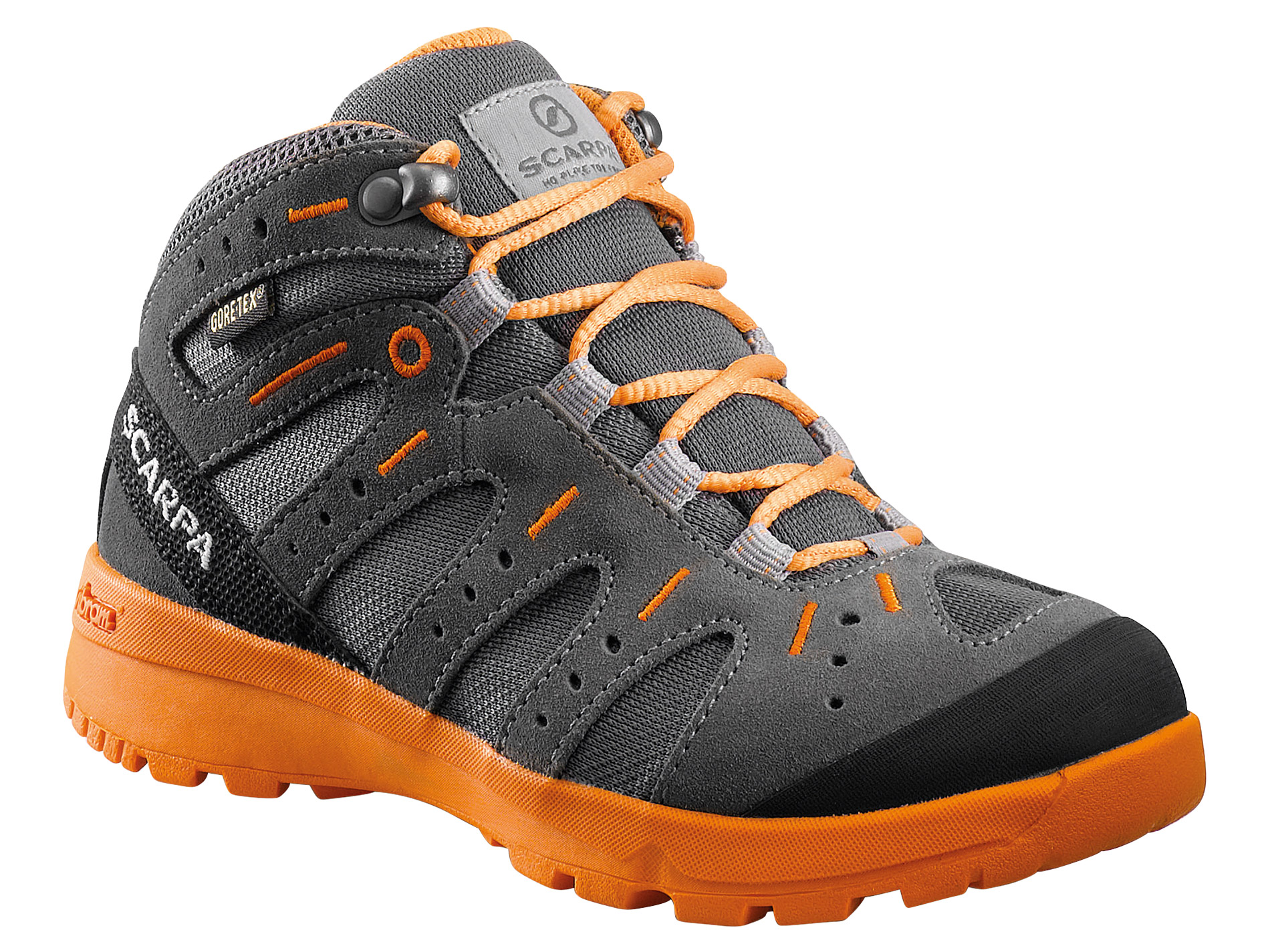Scarpa Lupo Mid GTX Grey Orange-30