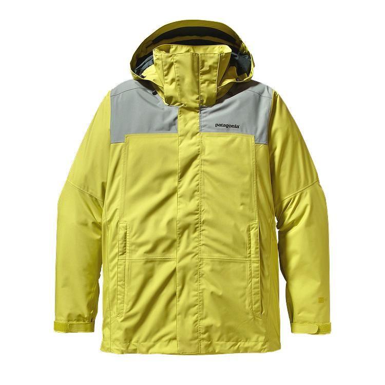 Patagonia - Snowshot Jacket Folios Green - Rain Jackets - XS