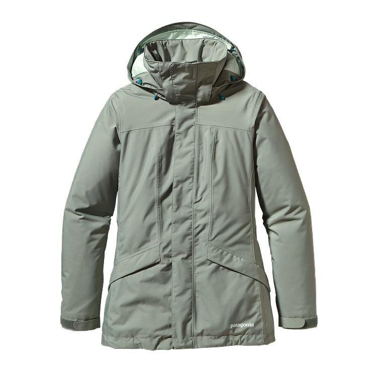 Patagonia Insulated Snowbelle Jacket L Verdigris-30