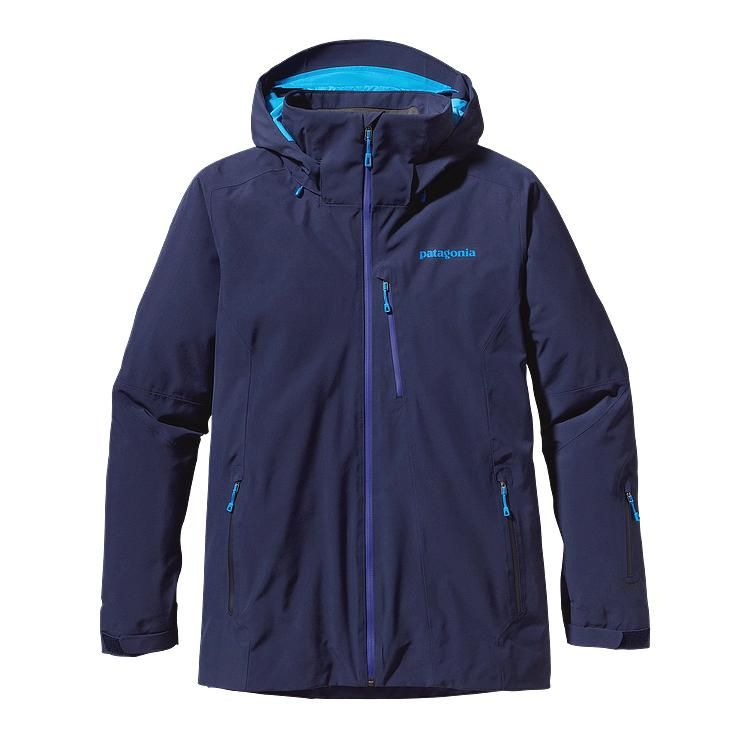 Patagonia - Insulated Powder Bowl Jacket Classic Navy - Isolation & Winter Jackets -