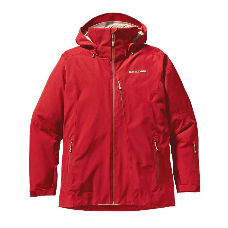 Patagonia - Insulated Powder Bowl Jacket Cochineal Red - Isolation & Winter Jackets - XL