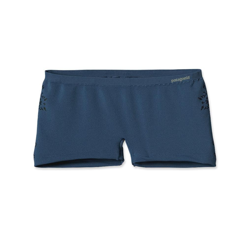 Patagonia Activemesh Boyshort Ombre Stencil: Glass Blue-30