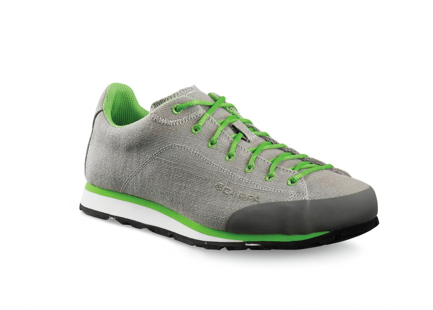 Scarpa Margarita Canvas Tan-Green-30