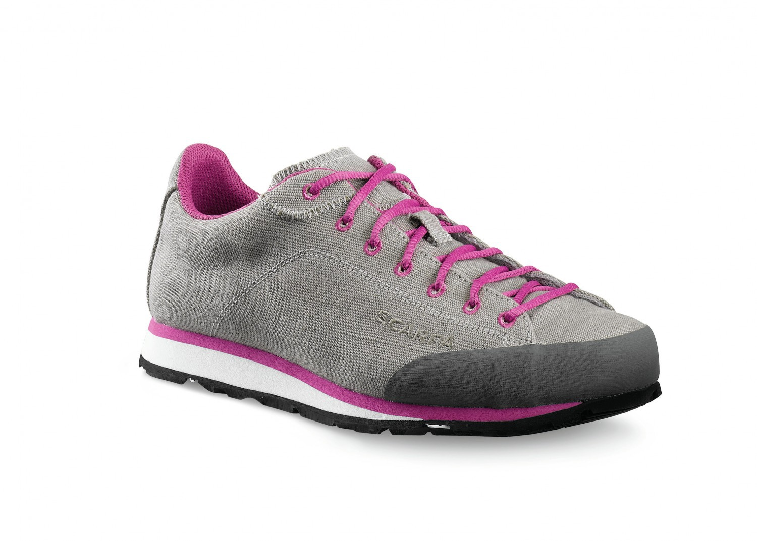 Scarpa Margarita Canvas Tan-Fuchsia-30