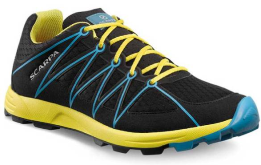 Scarpa - Minima Black-Yellow - Trailrunning Shoes - 42
