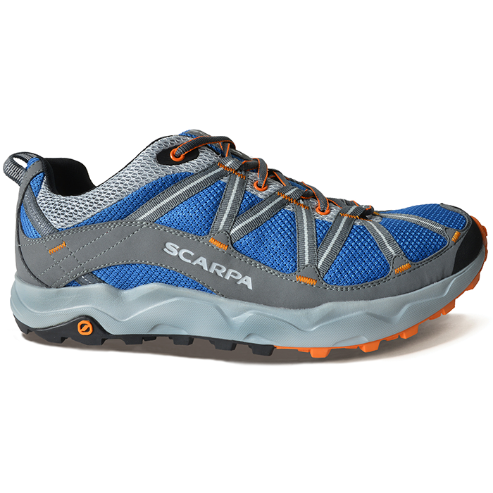 Scarpa - Ignite Blue-Silver - Trailrunning Shoes - 43