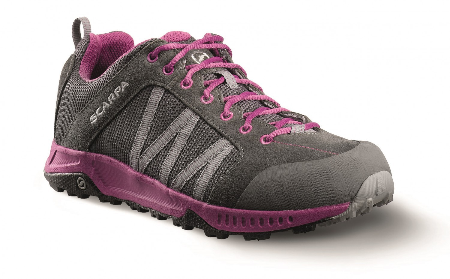 Scarpa - Rapid Wmn Gray-Fuchsia - Trailrunning Shoes - 43