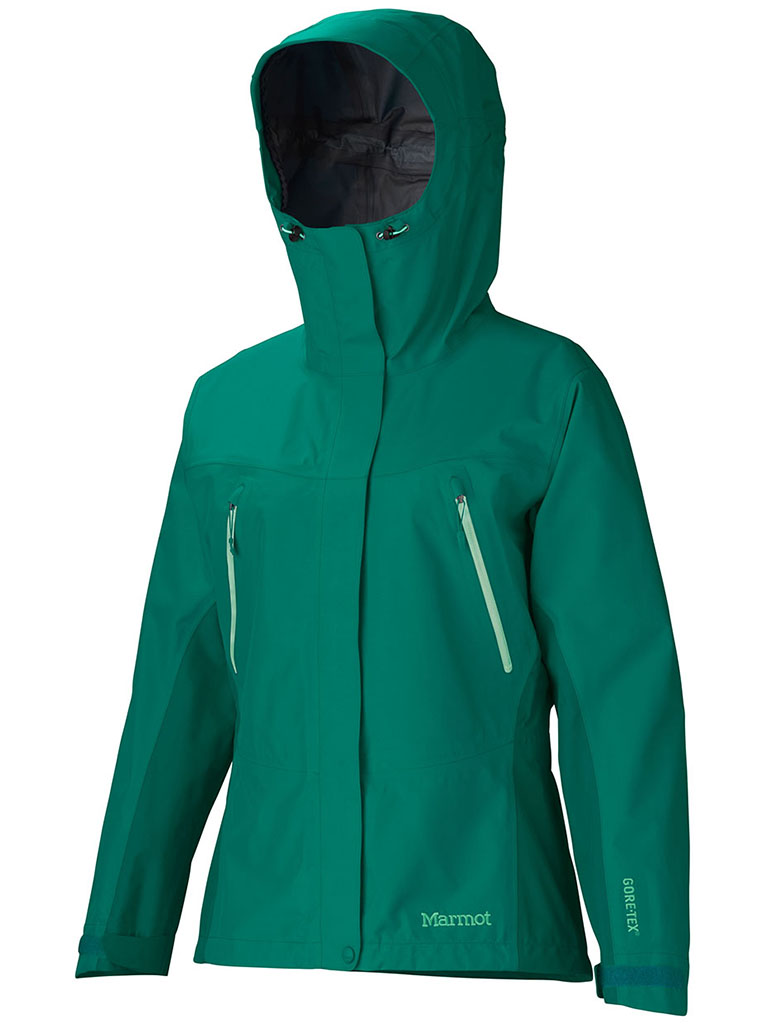 Marmot Wm's Spire Jacket Green Garnet-30