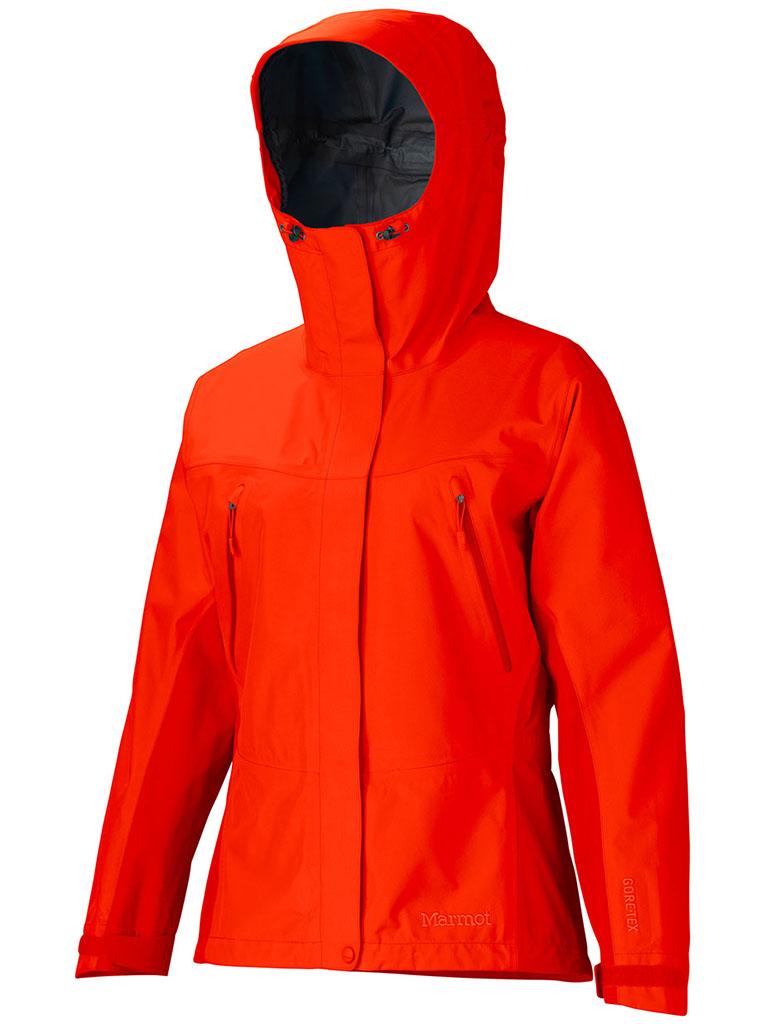 Marmot Wm's Spire Jacket Coral Sunset-30