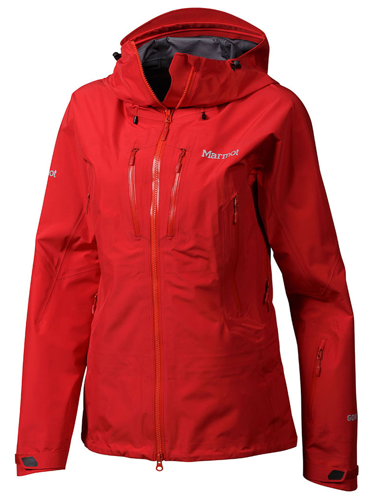 Marmot Wm's Alpinist Jacket Team Red-30