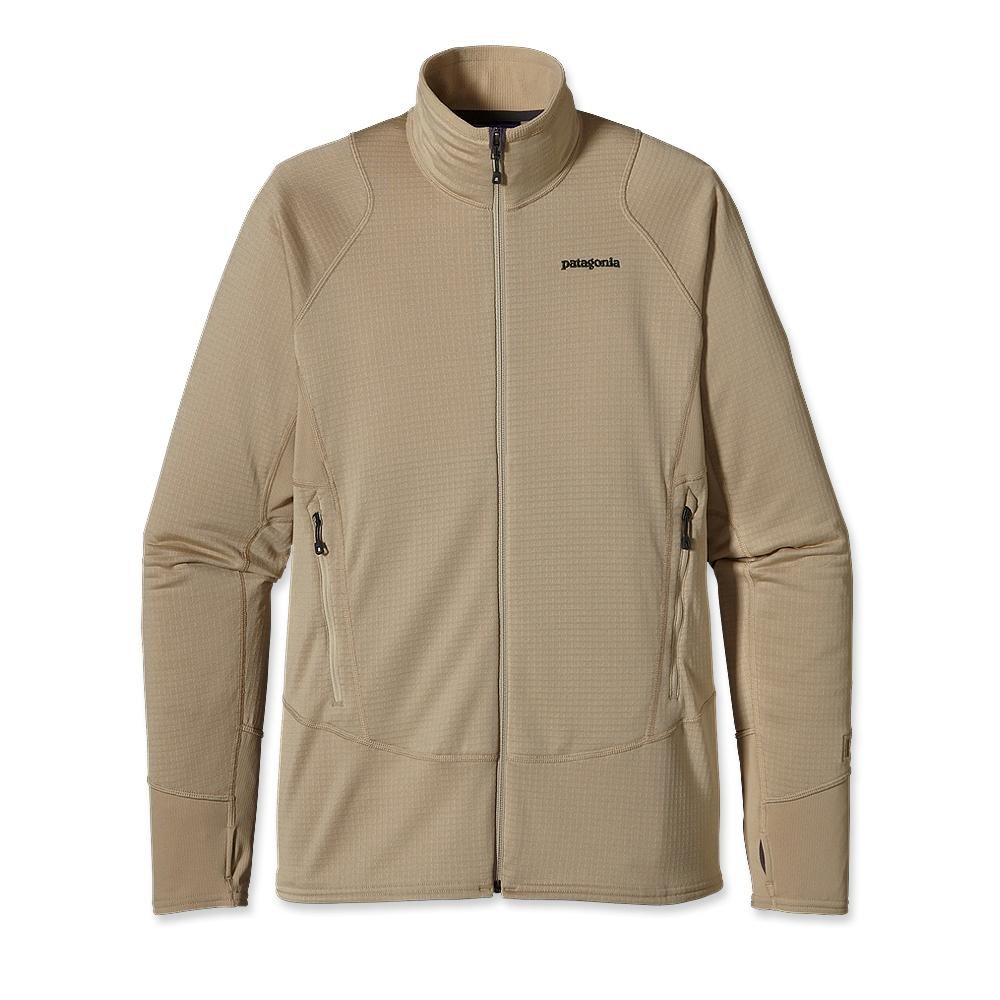 Patagonia R1 Full-Zip Fleece Jacket El Cap Khaki-30