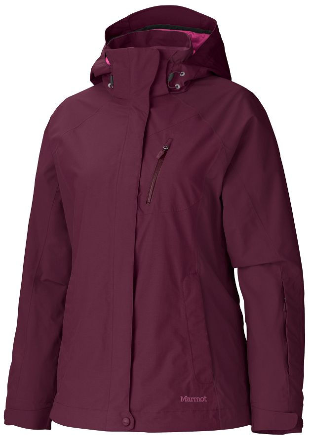 Marmot Wm's Tamarack Jacket Berry Wine-30