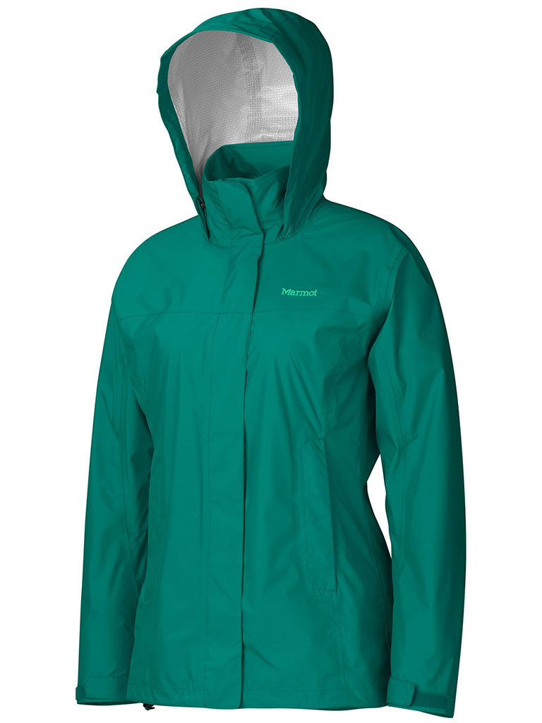 Marmot Wm's PreCip Jacket Green Garnet-30