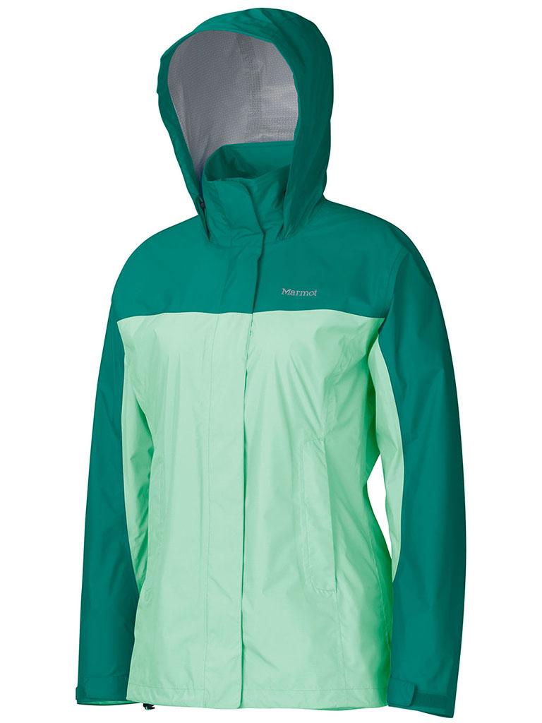 Marmot Wm's PreCip Jacket Green Frost/Green Garnet-30
