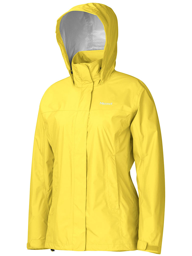 Marmot Wm's PreCip Jacket Vibrant Yellow-30