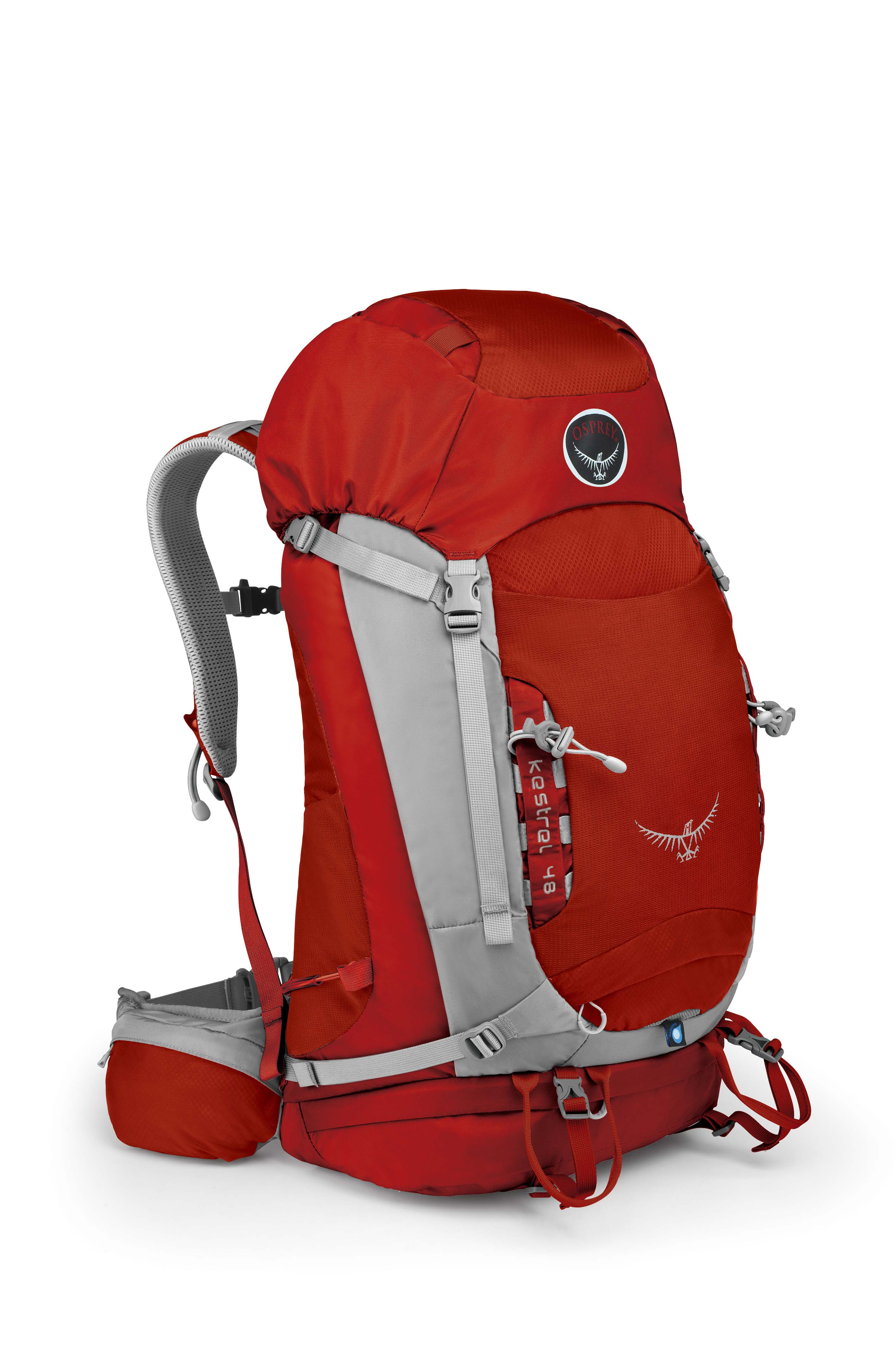 Osprey Kestrel 48 Fire Red-30