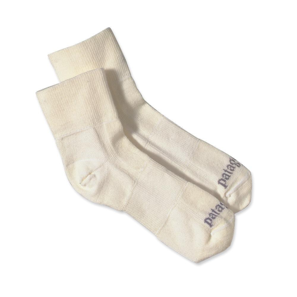 Patagonia Ultra Lightweight Merino Run 1/4 Socks Pearl-30