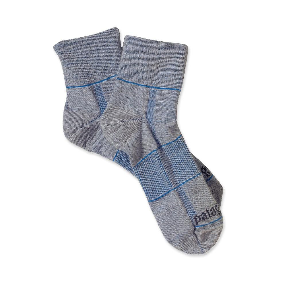Patagonia Ultra Lightweight Merino Run 1/4 Socks Feather Grey-30