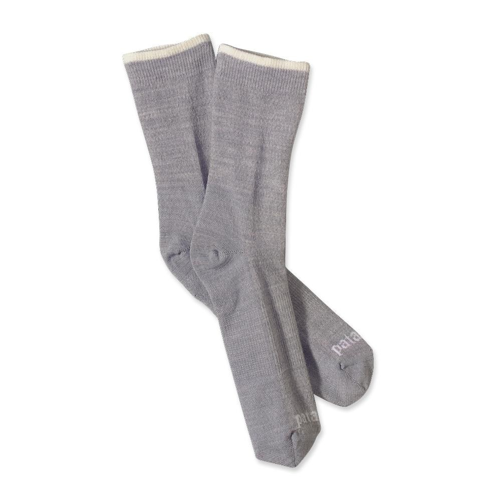 Patagonia Ultra Lightweight Merino Crew Socks Feather Grey-30