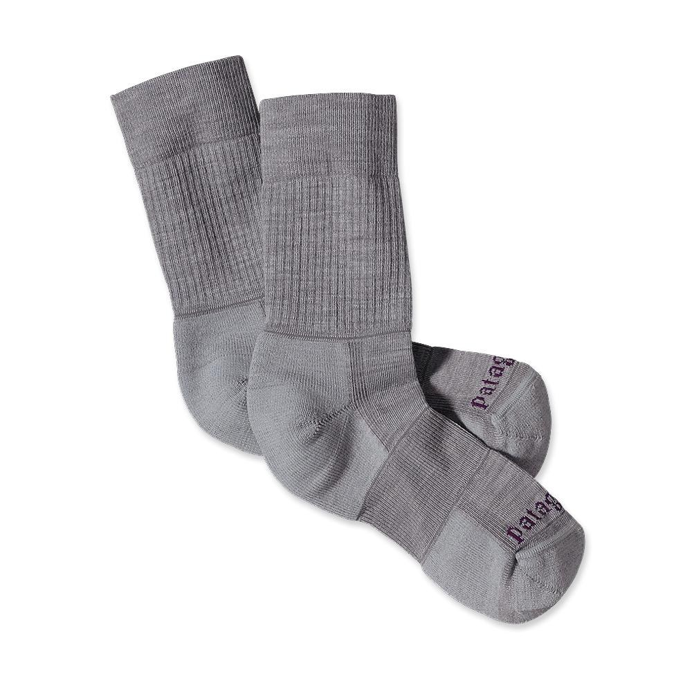 Patagonia Lightweight Merino Hinking Crew Socks Feather Grey-30